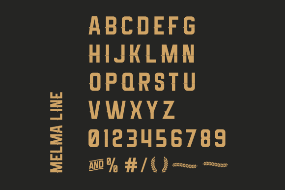 Print on Demand: Melma Font By Creative Fabrica Freebies - Image 3