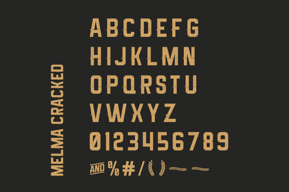 Print on Demand: Melma Font By Creative Fabrica Freebies - Image 4