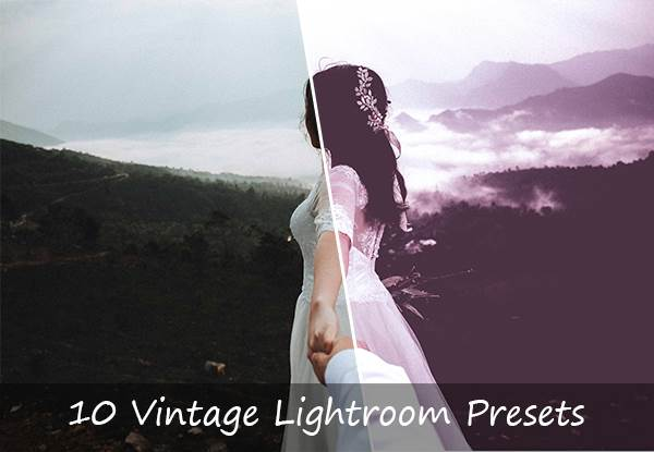 10 Vintage Lightroom-Presets Grafik von Creative Fabrica Freebies