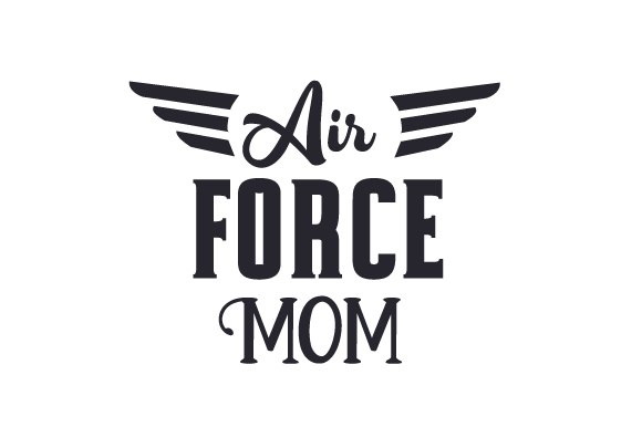 Download Free Air Force Mom Svg Cut File By Creative Fabrica Crafts Creative for Cricut Explore, Silhouette and other cutting machines.