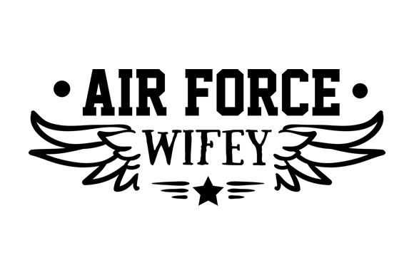 Download Free Air Force Wifey Svg Cut File By Creative Fabrica Crafts for Cricut Explore, Silhouette and other cutting machines.