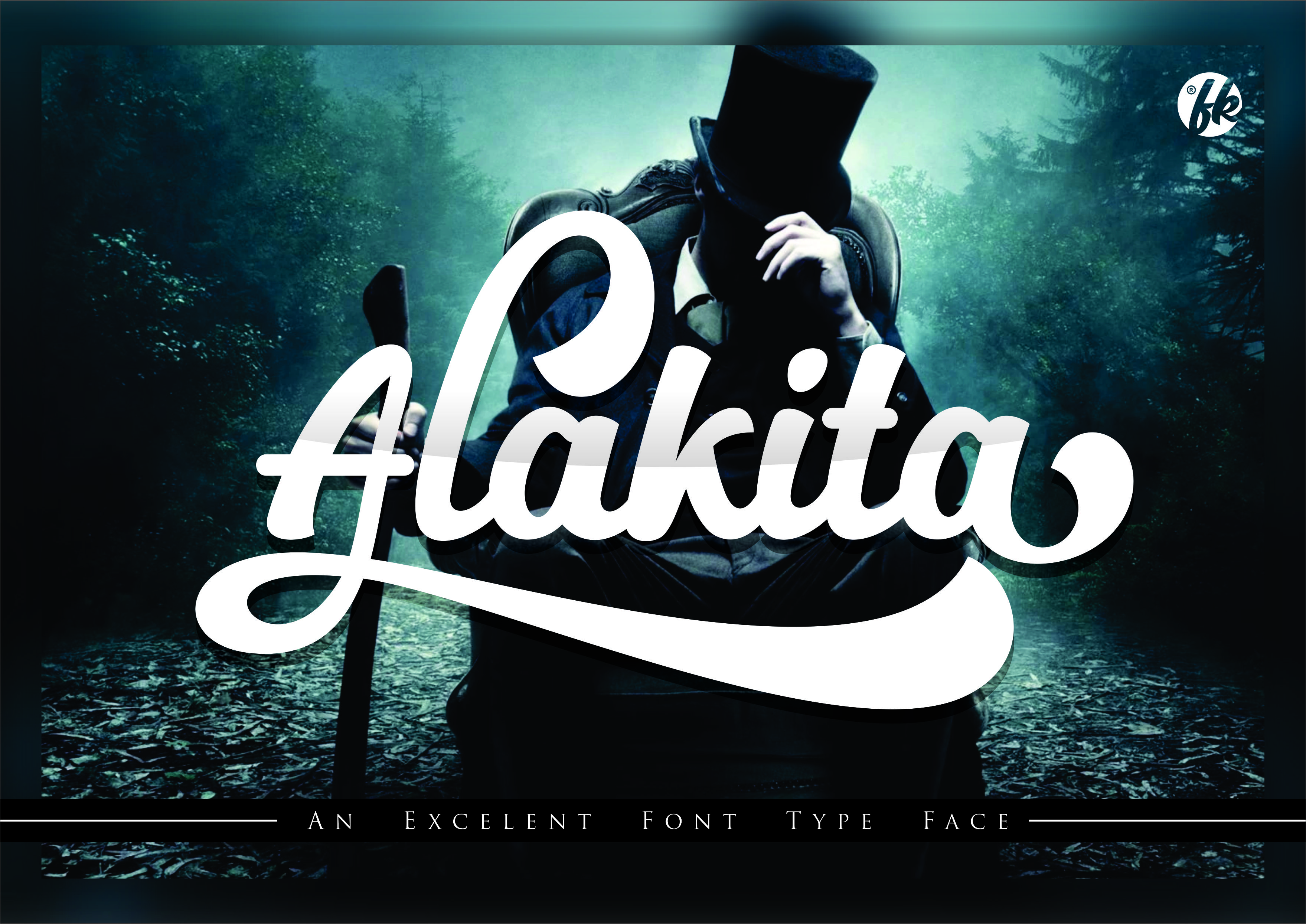 Print on Demand: Alakita Script & Handwritten Font By afredo.fk
