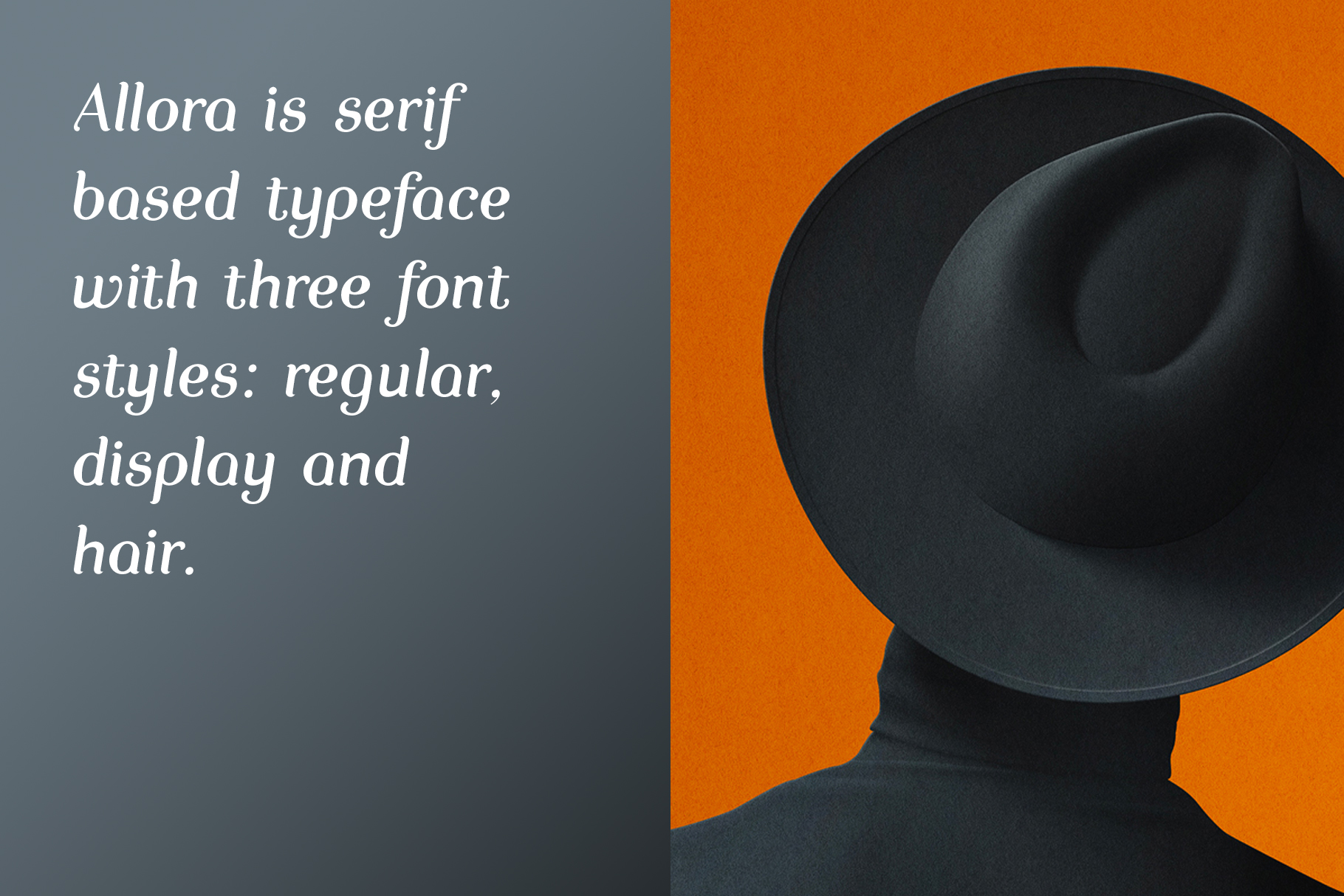 Print on Demand: Allora Display Font By Etewut 2