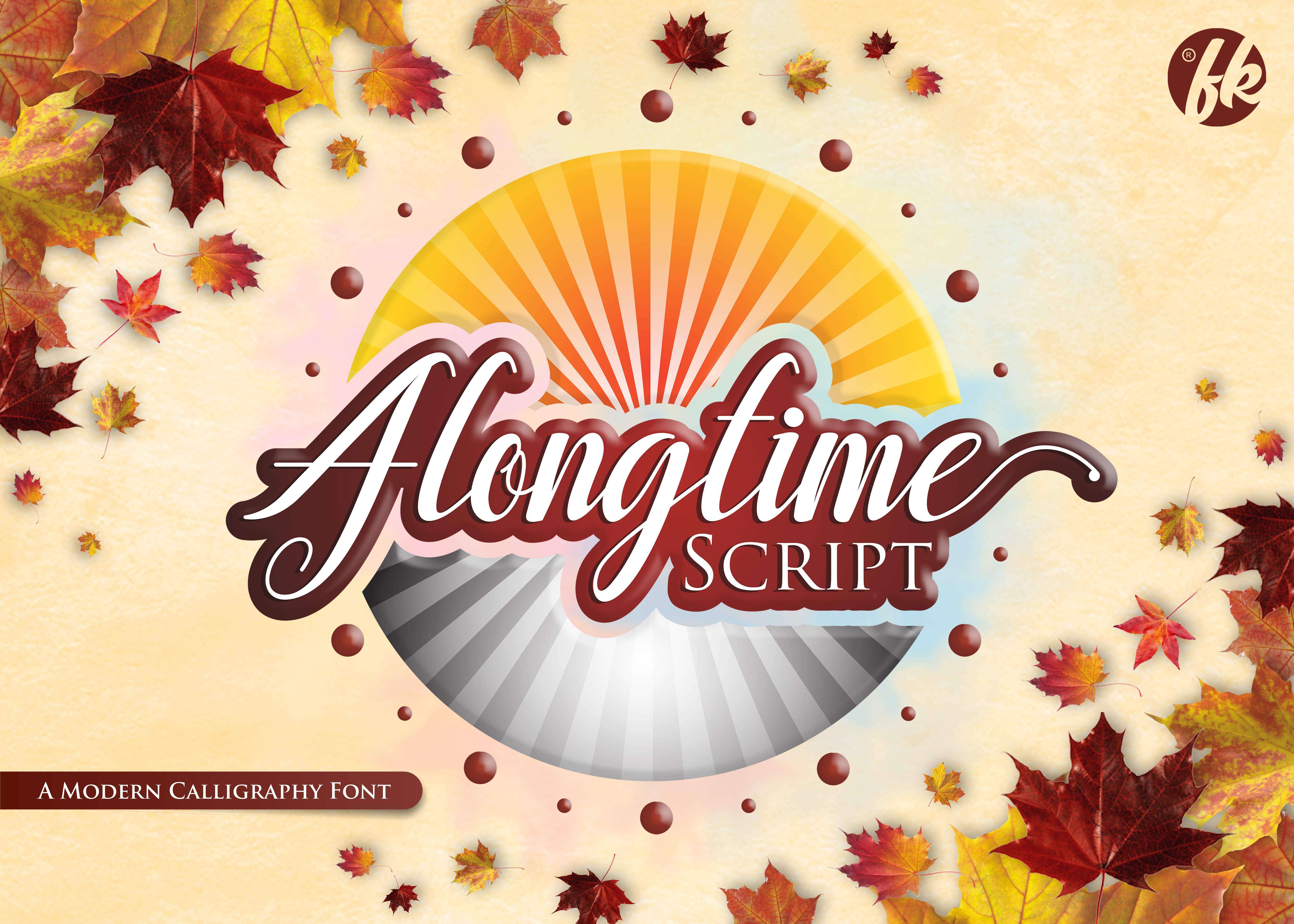 Print on Demand: Alongtime Script Script & Handwritten Font By afredo.fk