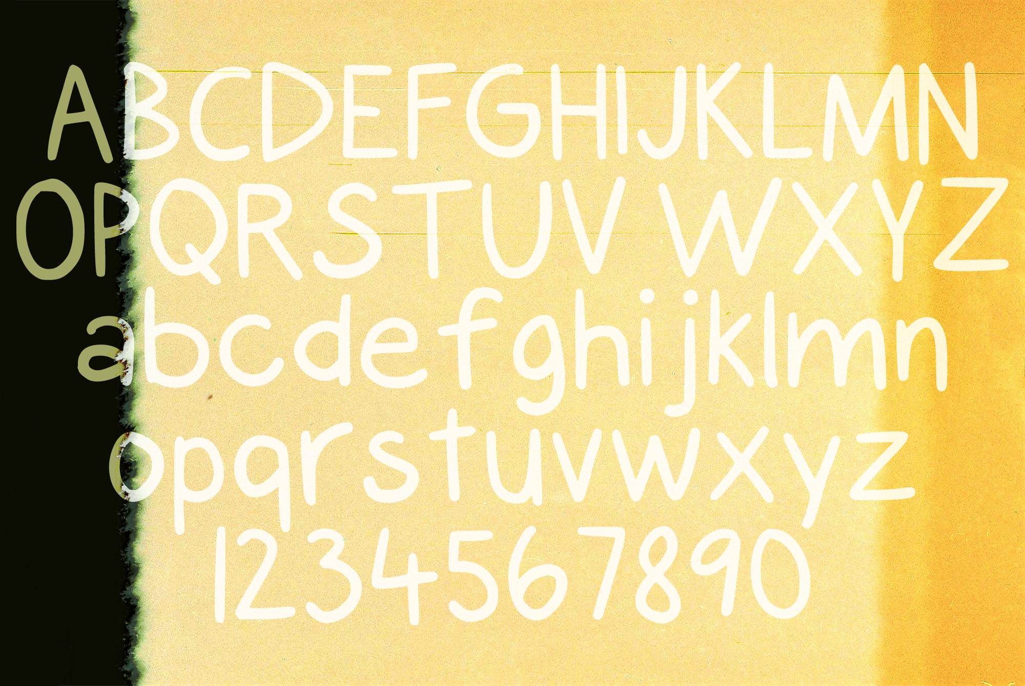 Alyssa Kayla Font By Dominique Demetz Image 2