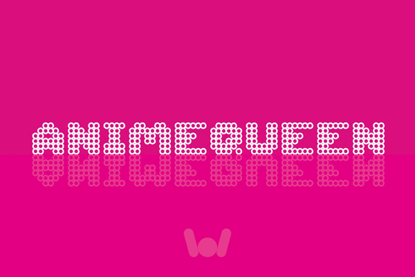 Print on Demand: Animequeen Font Display Fuente Por weknow