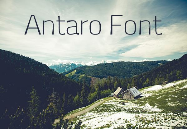 Print on Demand: Antaro Font Font By Creative Fabrica Freebies