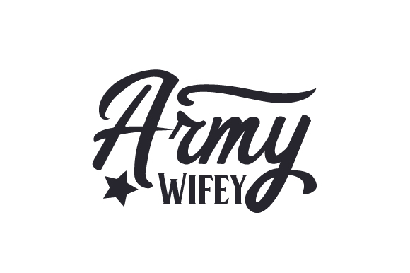 Download Free Army Wifey Svg Cut File By Creative Fabrica Crafts Creative for Cricut Explore, Silhouette and other cutting machines.