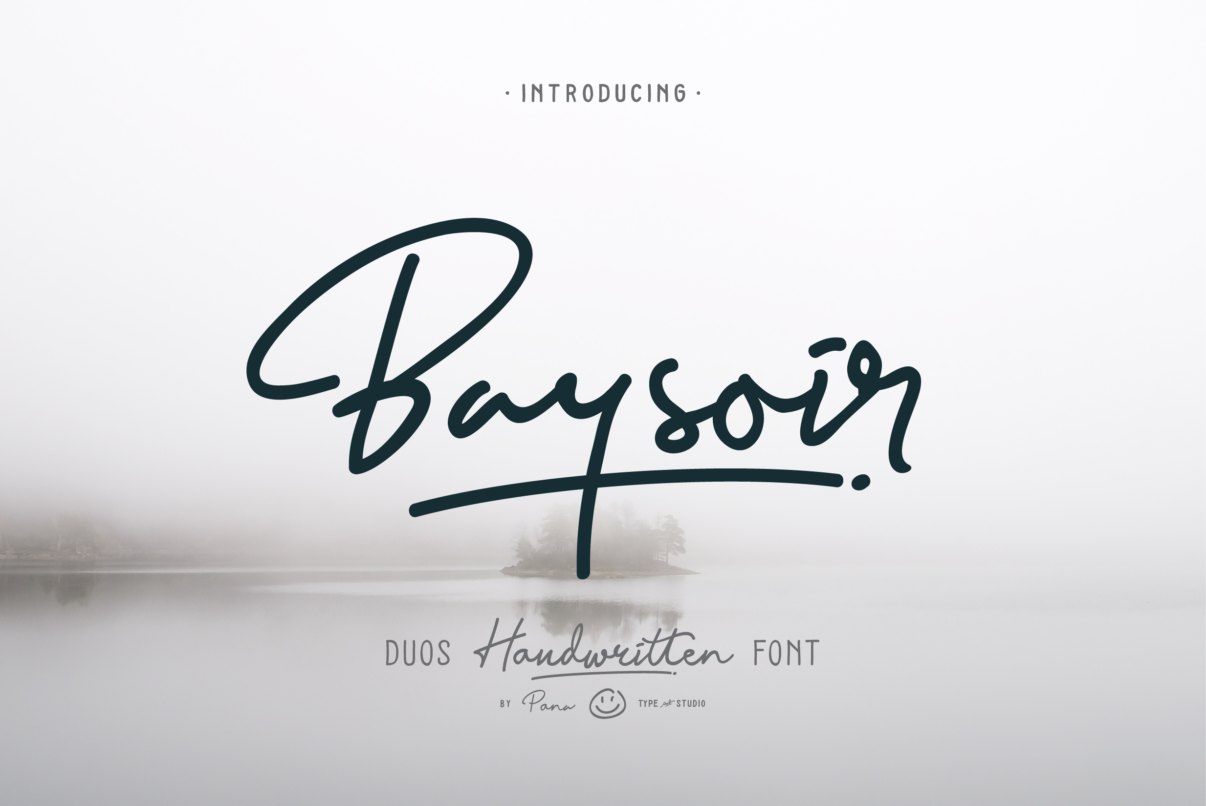 Print on Demand: Baysoir Script & Handwritten Font By Pana Type - Image 1