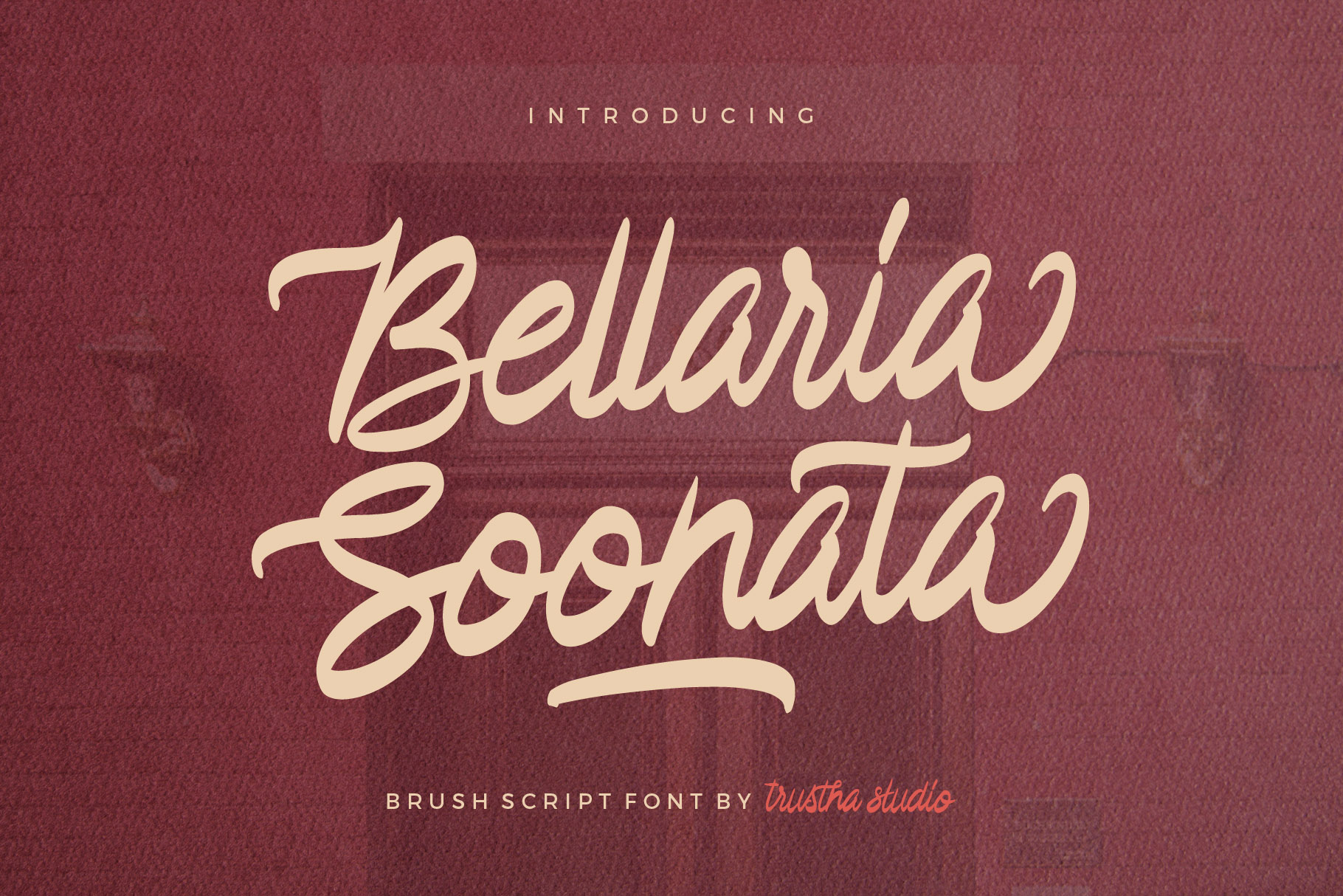 Print on Demand: Bellaria Soonata Display Font By trusthastd
