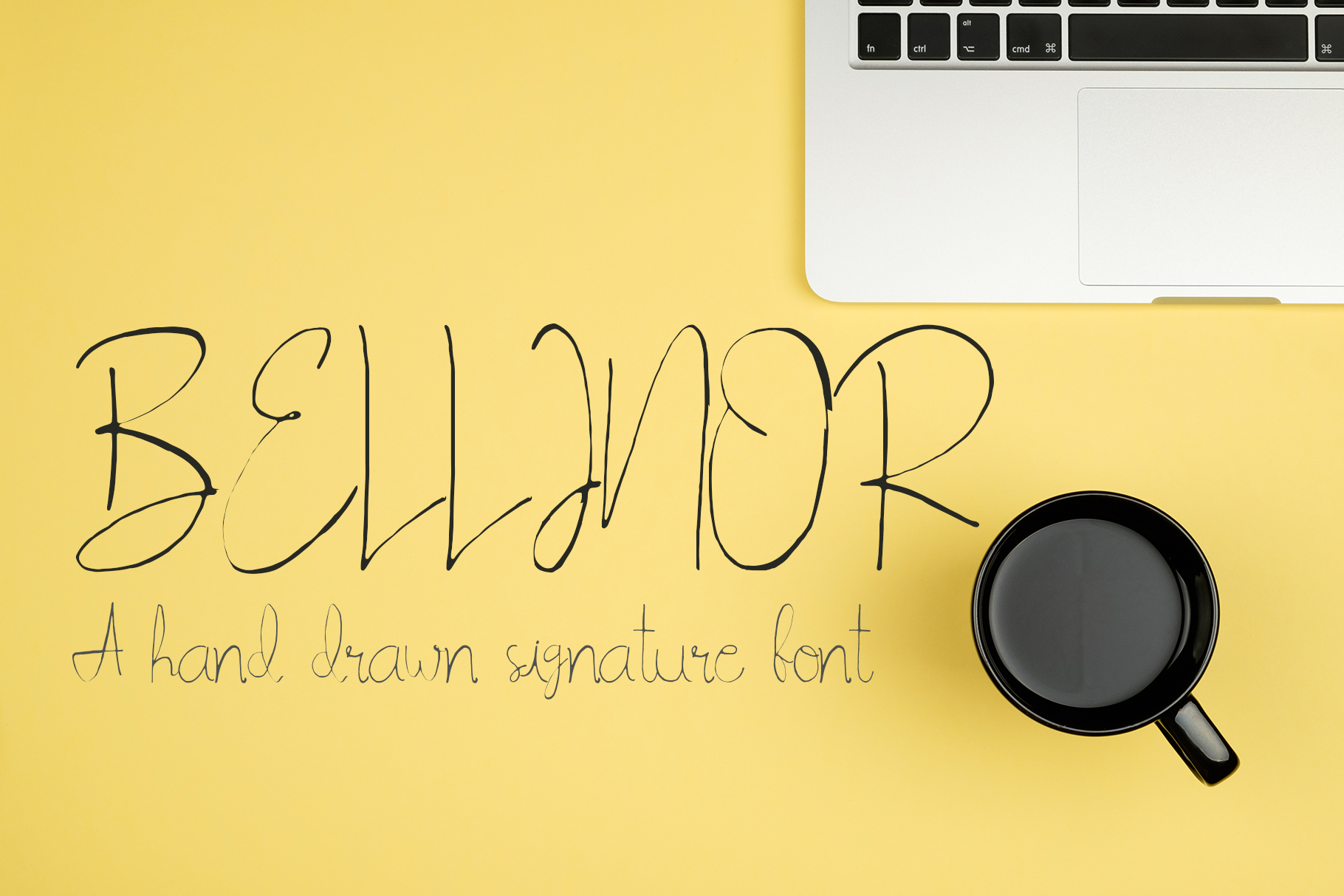 Print on Demand: Bellinor Script & Handwritten Font By Creative Tacos