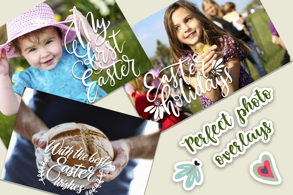 Print on Demand: Big Easter Set, 303 Elements. Graphic Illustrations By Red Ink - Image 10