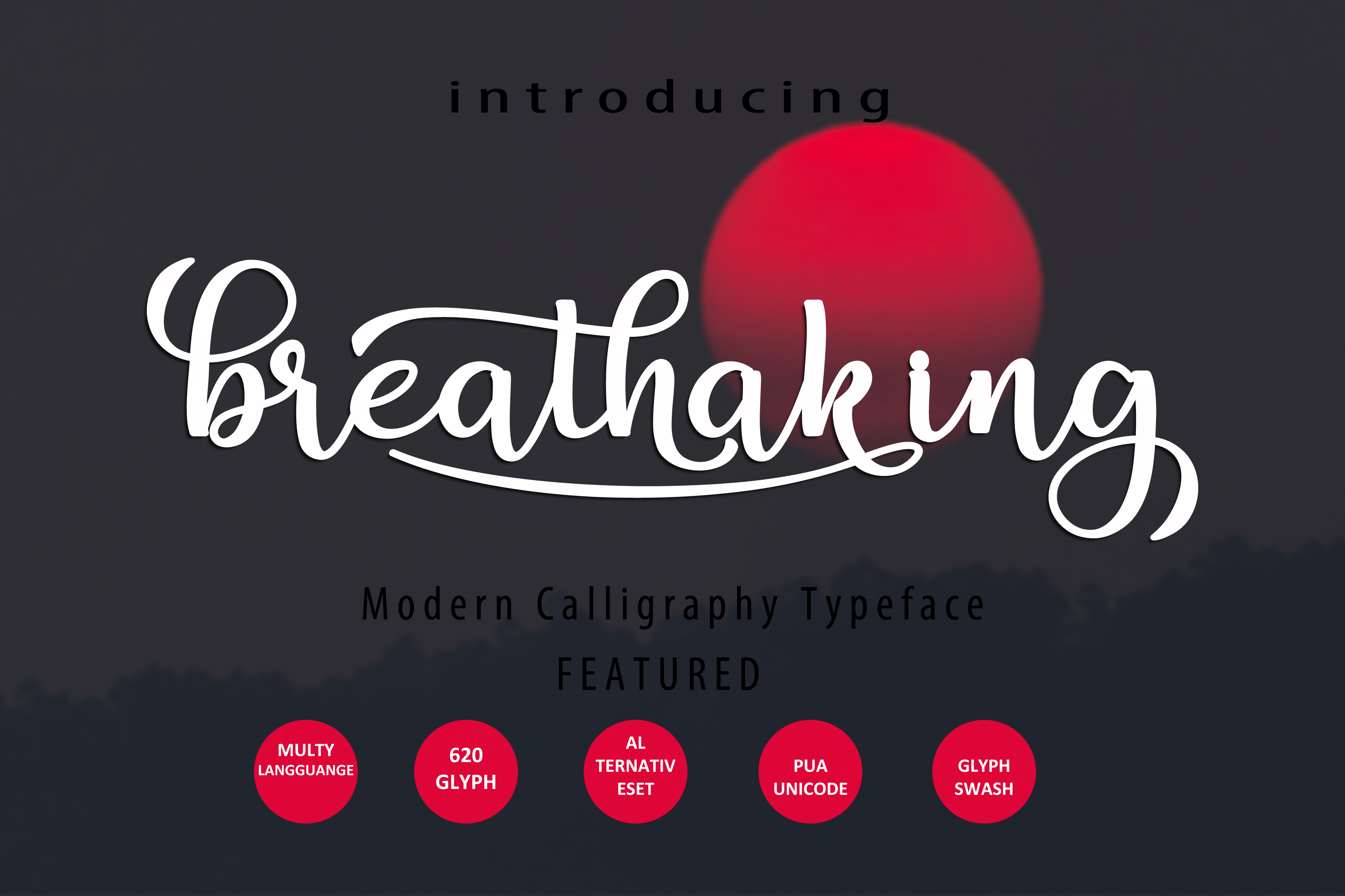 Print on Demand: Breathaking Script Script & Handwritten Font By zulkhairilettering