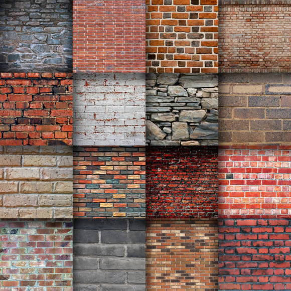 Creative Uses For Bricks: Brick Wall Digital Paper Textures Graphic By