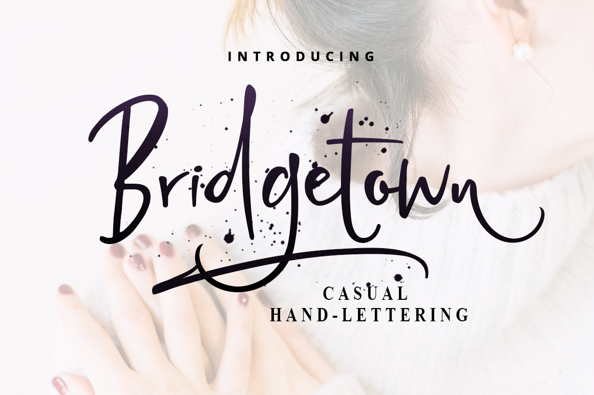 Print on Demand: Bridgetown Script & Handwritten Font By Mercurial
