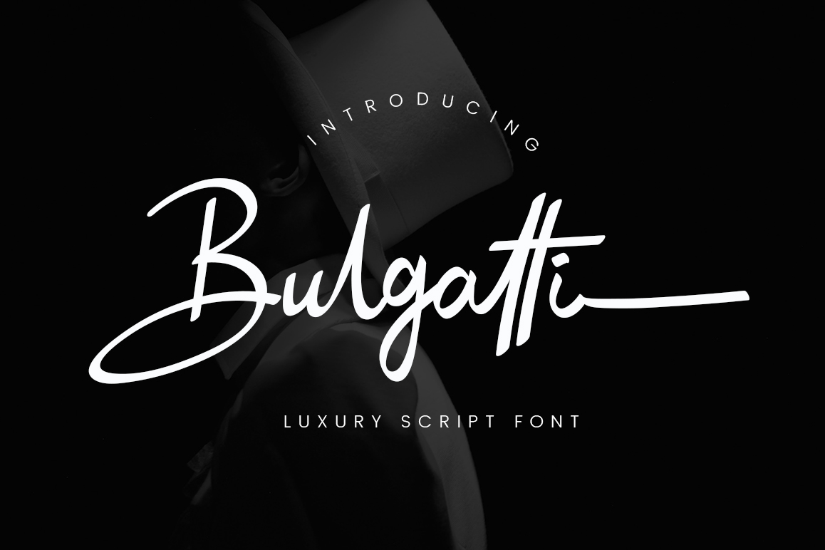 Print on Demand: Bulgatti Script & Handwritten Font By CreatypeStudio