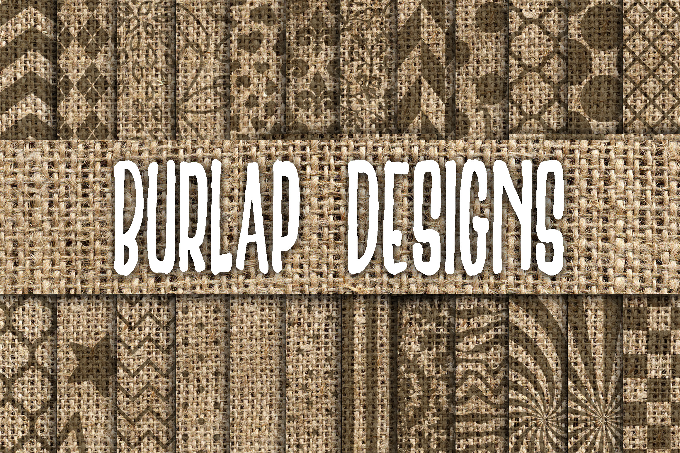 burlap designs digital paper textures graphic by