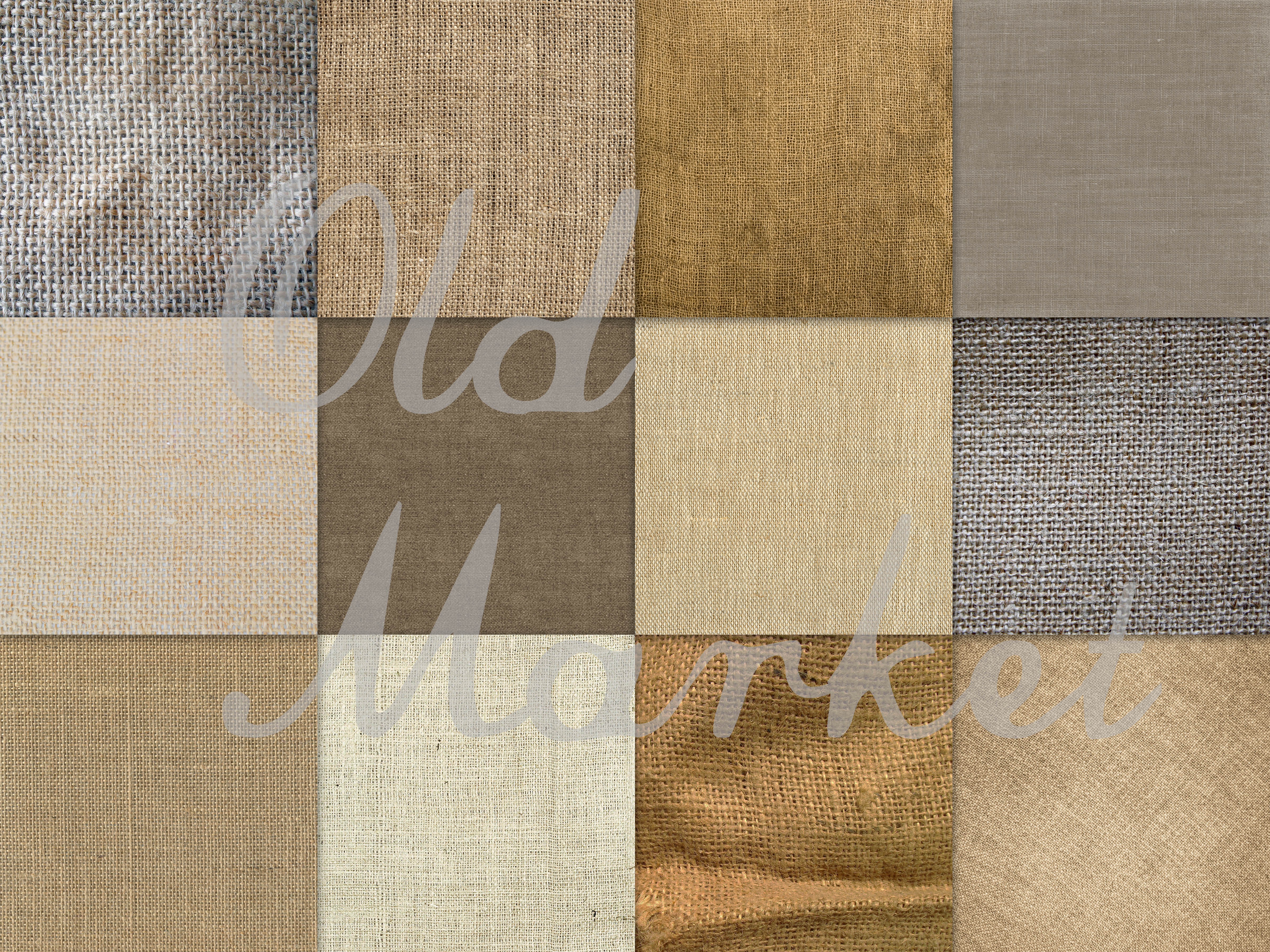 Download Free Burlap Textures Digital Paper Graphic By Oldmarketdesigns for Cricut Explore, Silhouette and other cutting machines.