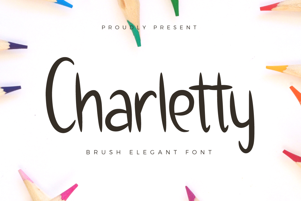 Charletty Font By Kang1993