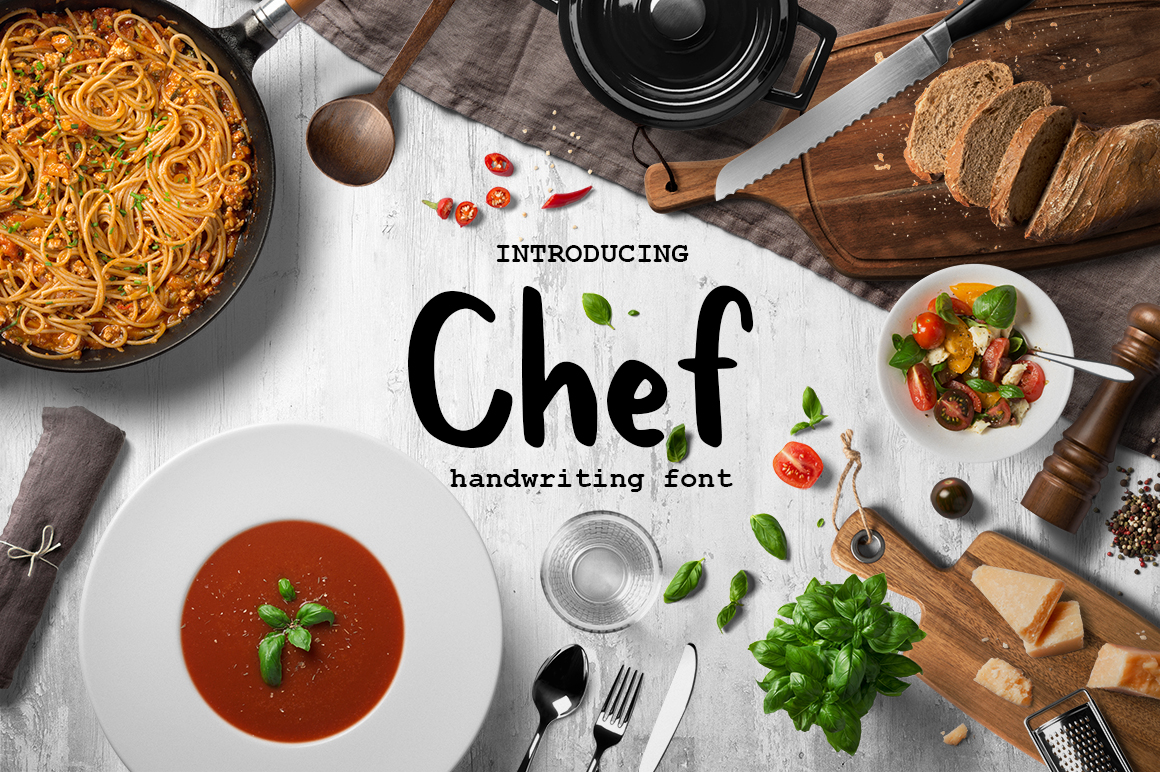 Chef Display Font By InkandBrush