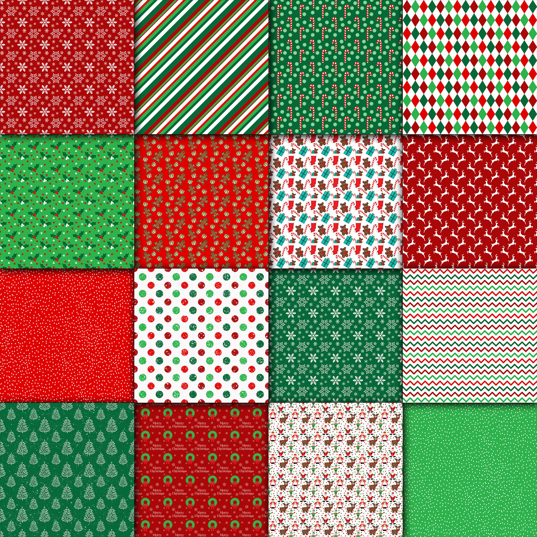 Download Free Christmas Digital Paper Graphic By Oldmarketdesigns Creative for Cricut Explore, Silhouette and other cutting machines.