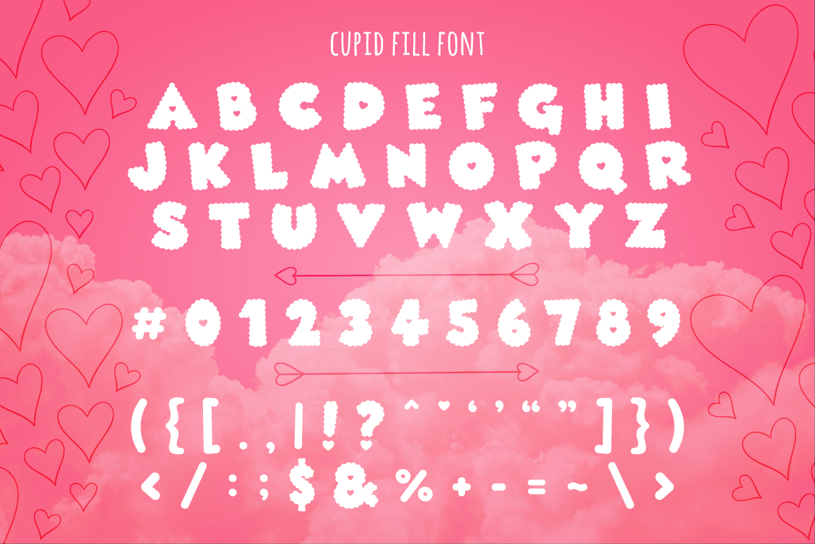 Print on Demand: Cupid Display Font By Creative Fabrica Fonts - Image 3