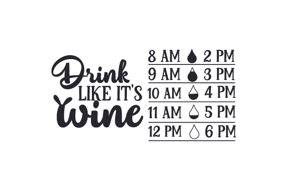 Download Free Drink Like It S Wine Svg Cut File By Creative Fabrica Crafts for Cricut Explore, Silhouette and other cutting machines.