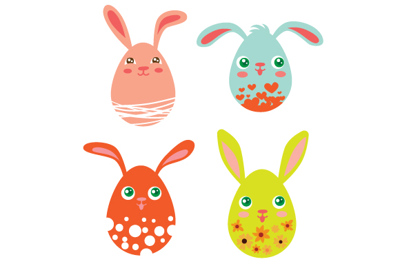 Easter Eggs Easter Craft Cut File By Creative Fabrica Crafts
