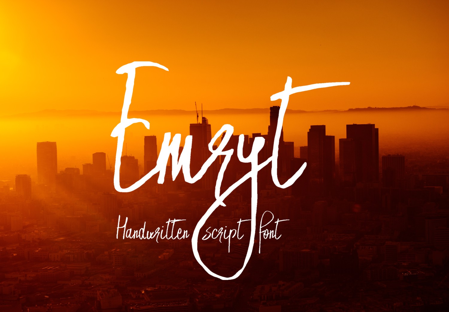 Print on Demand: Emryt Script & Handwritten Font By Eva Barabasne Olasz
