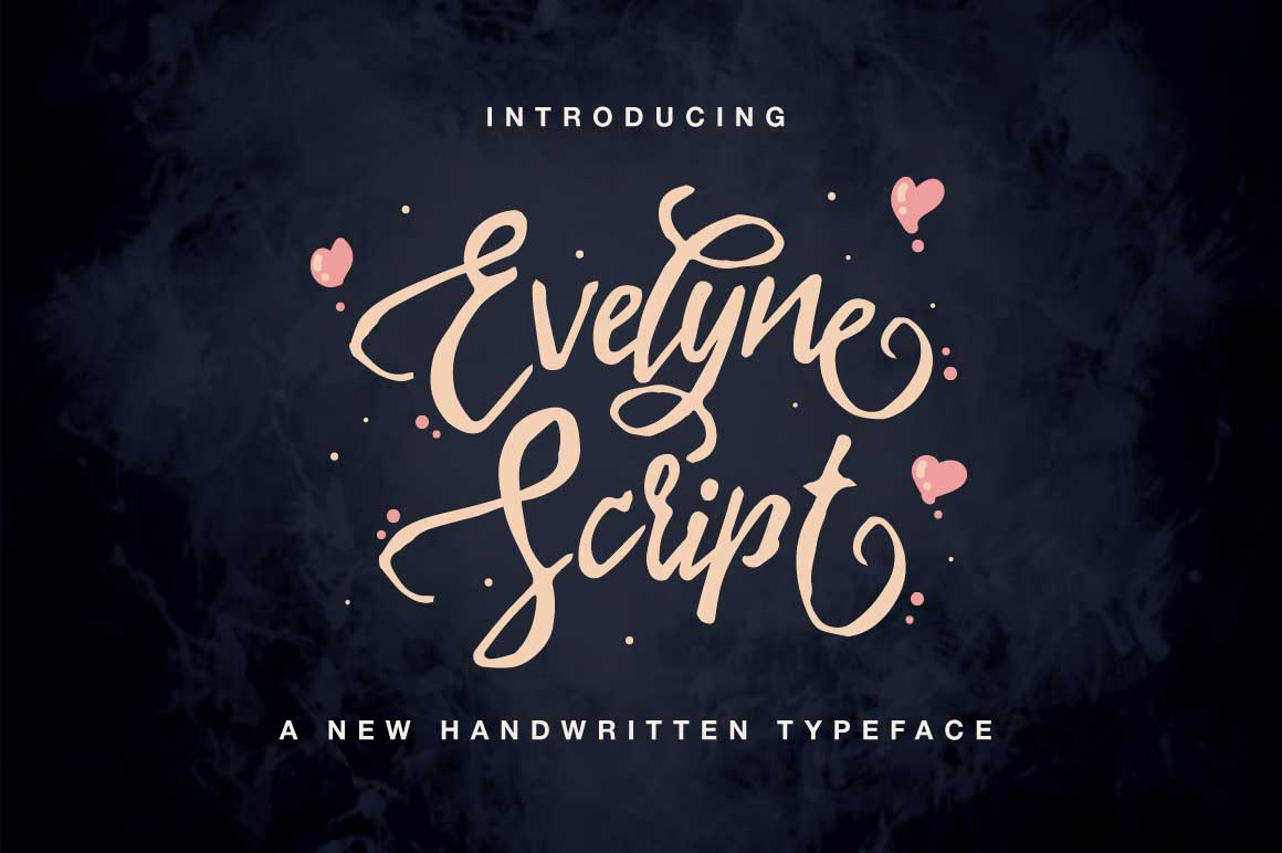 Evelyne Font By QueenType