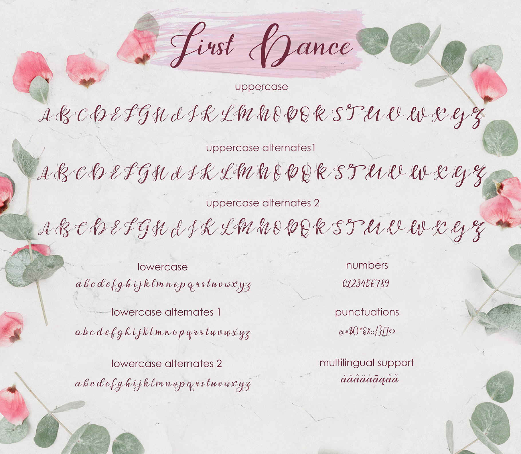 First Dance Font By tregubova.jul Image 7
