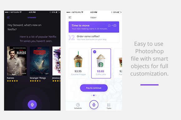 Personal Assistant App Free PSD Mockup Graphic By Creative Fabrica Freebies Image 3