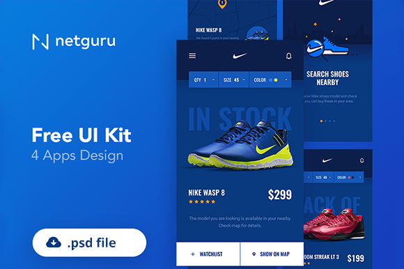 Download Free Gratis Sport App Ui Kit Psd Creative Fabrica for Cricut Explore, Silhouette and other cutting machines.