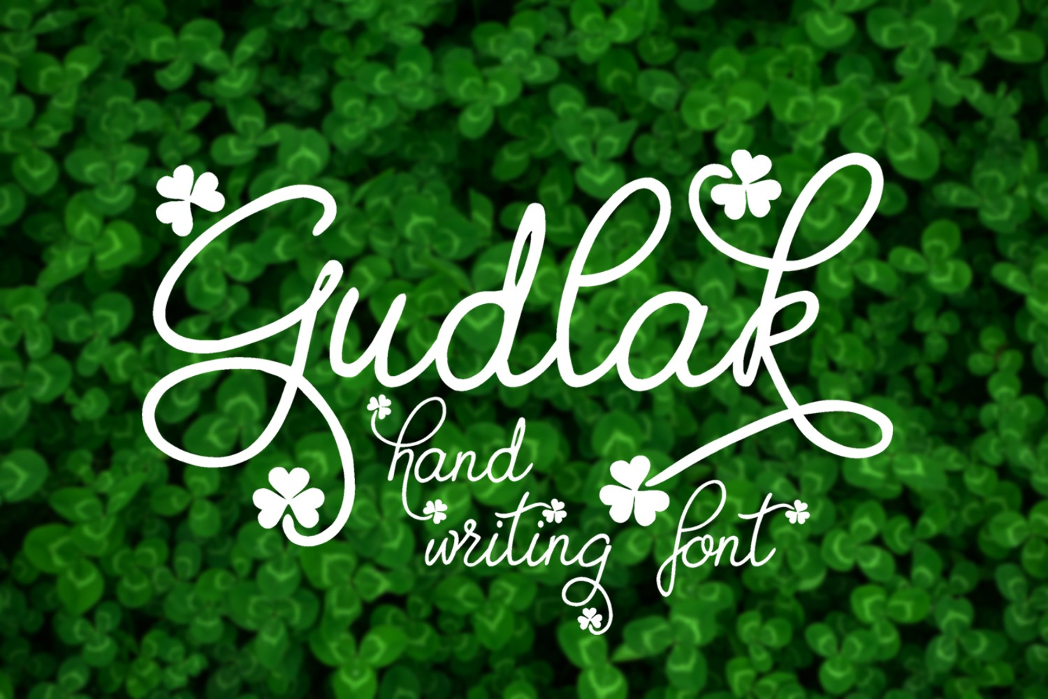 Print on Demand: Gudlak Script & Handwritten Font By Eva Barabasne Olasz