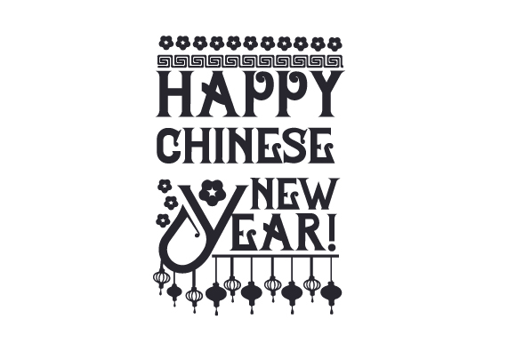 Happy Chinese New Year! New Year's Craft Cut File By Creative Fabrica Crafts - Image 2