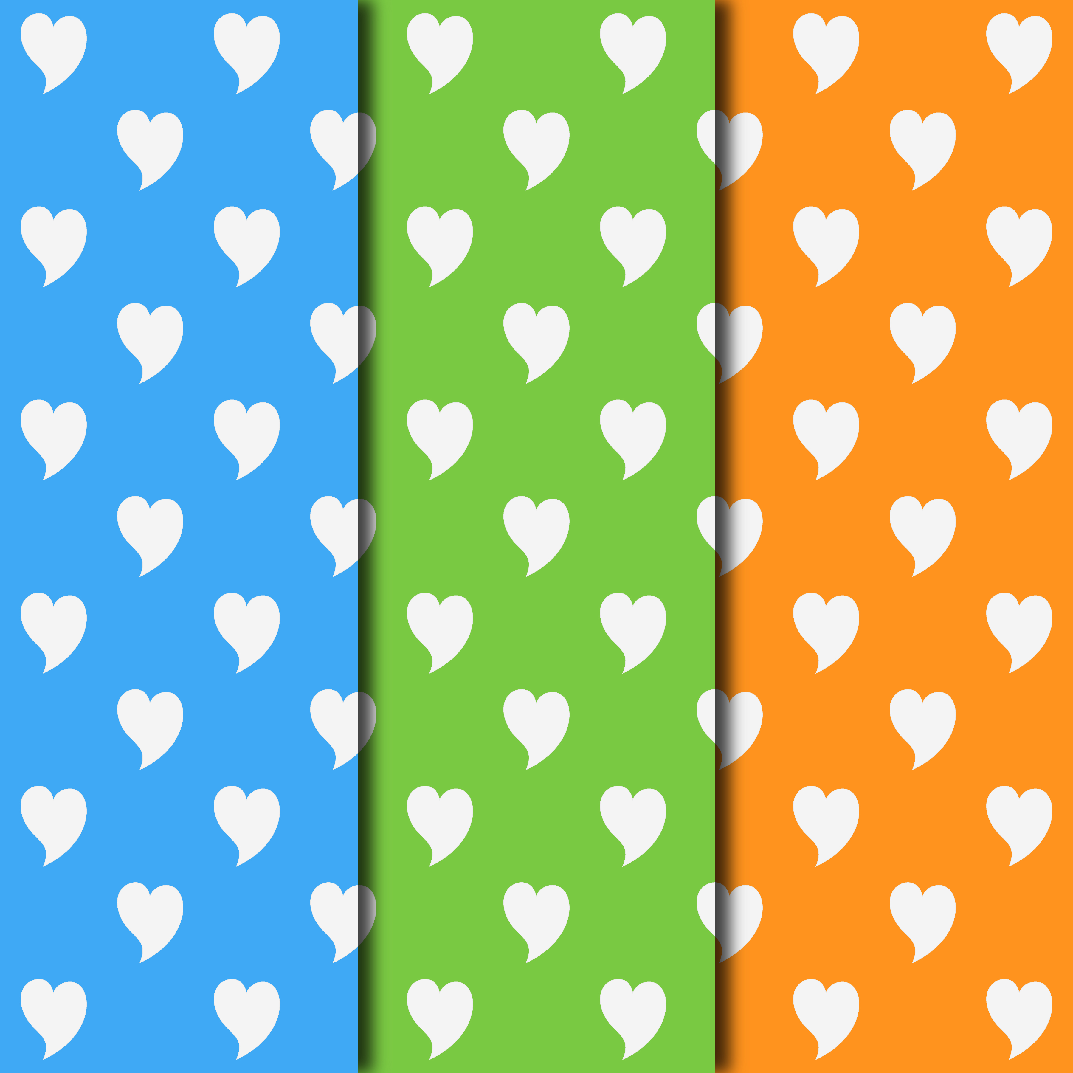 Download Free Hearts 2 Ways Pattern Digital Paper Collection Grafik Von for Cricut Explore, Silhouette and other cutting machines.
