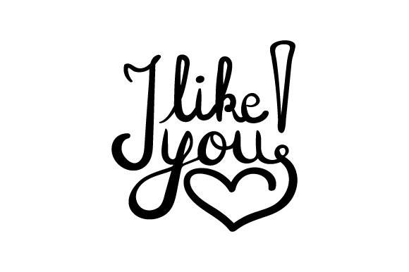 Download Free I Like You Svg Cut File By Creative Fabrica Crafts Creative Fabrica for Cricut Explore, Silhouette and other cutting machines.