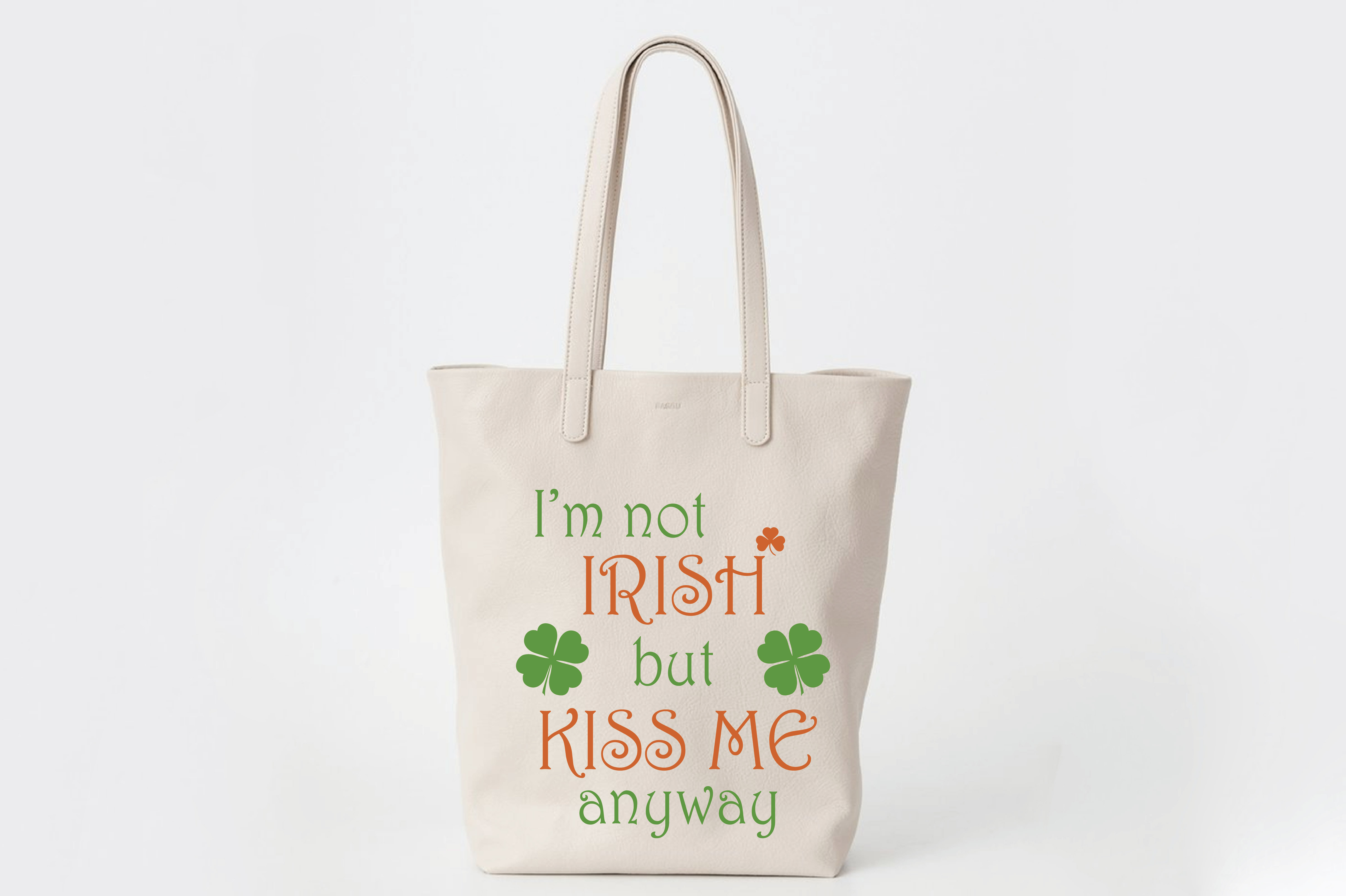 Download Free I M Not Irish But Kiss Me Anyway Subway Art Svg Cut File Graphic for Cricut Explore, Silhouette and other cutting machines.