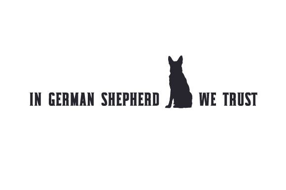 In German Shepherd We Trust Dogs Craft Cut File By Creative Fabrica Crafts