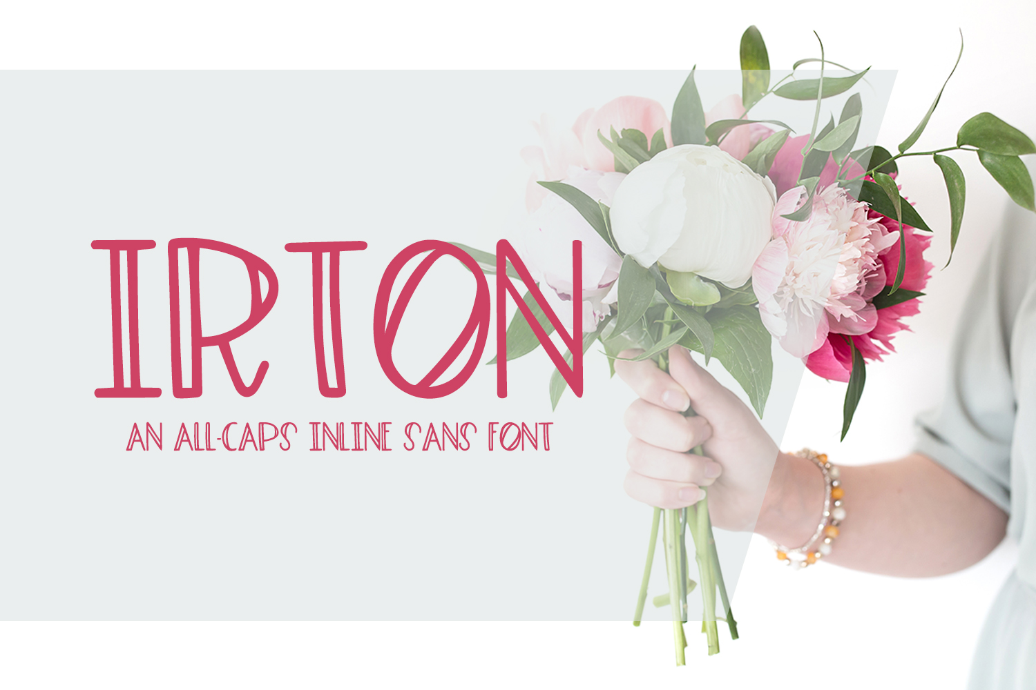 Irton Inline Font By BeckMcCormick