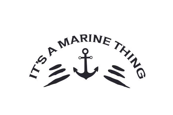 It's a Marine Thing Military Craft Cut File By Creative Fabrica Crafts