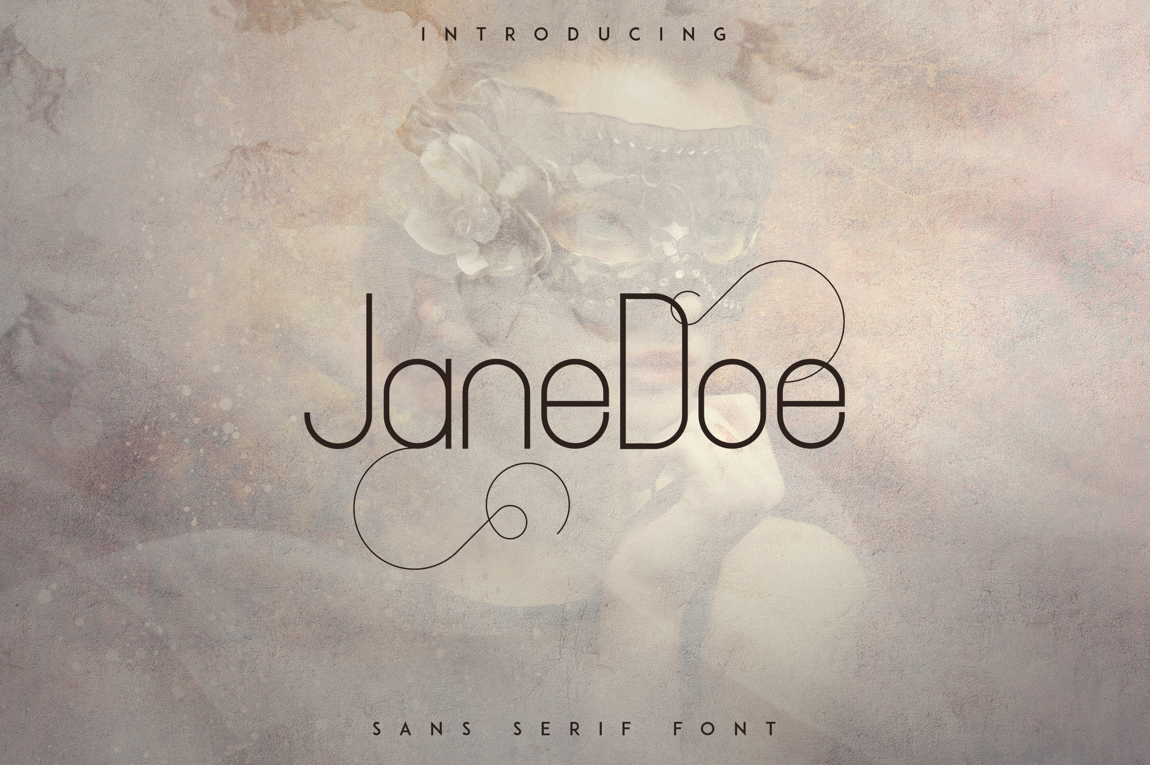 Print on Demand: JaneDoe Sans Serif Font By vladfedotovv