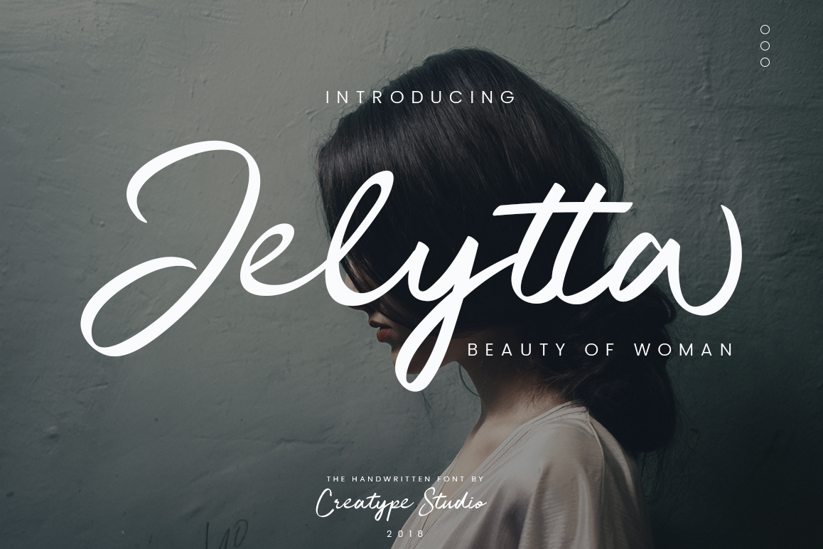 Print on Demand: Jelytta Script & Handwritten Font By CreatypeStudio