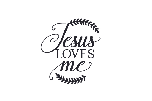 Jesus Loves Me Easter Craft Cut File By Creative Fabrica Crafts - Image 2