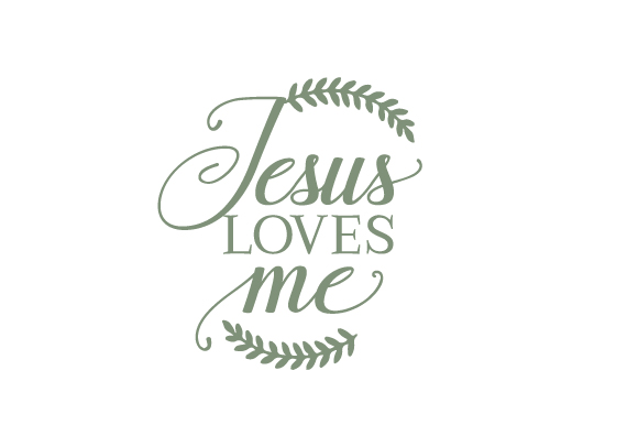 Jesus Loves Me Easter Craft Cut File By Creative Fabrica Crafts