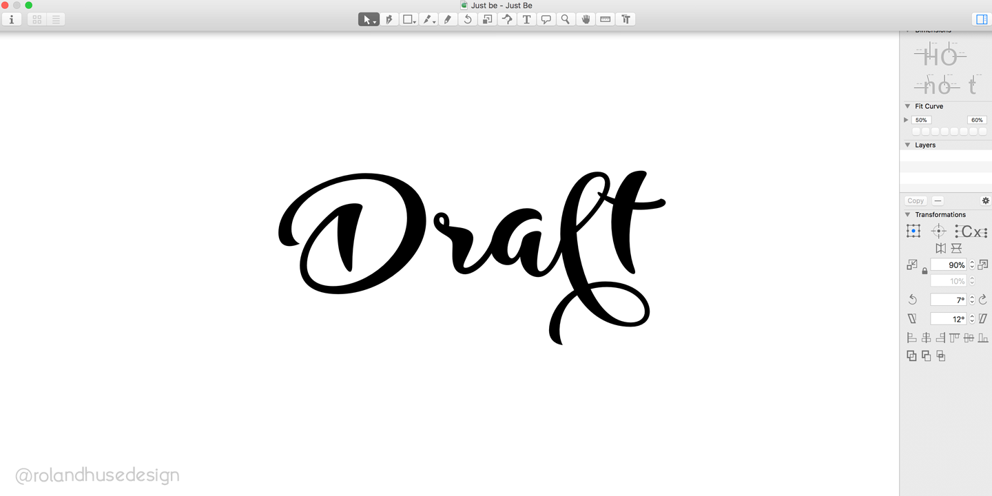 Print on Demand: Just Be Script & Handwritten Font By Roland Hüse - Image 4