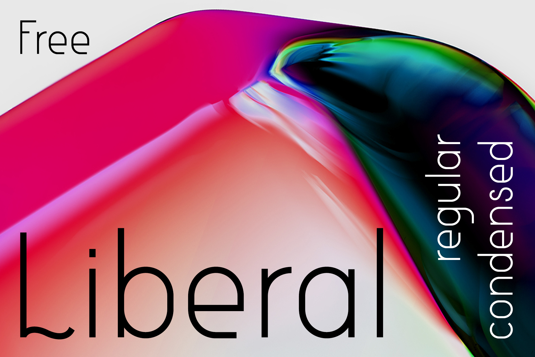 Print on Demand: Liberal Sans Serif Font By Etewut