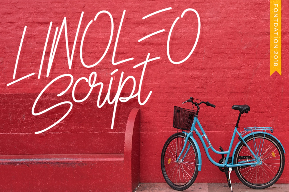 Print on Demand: Linoleo Script Script & Handwritten Font By Fontdation