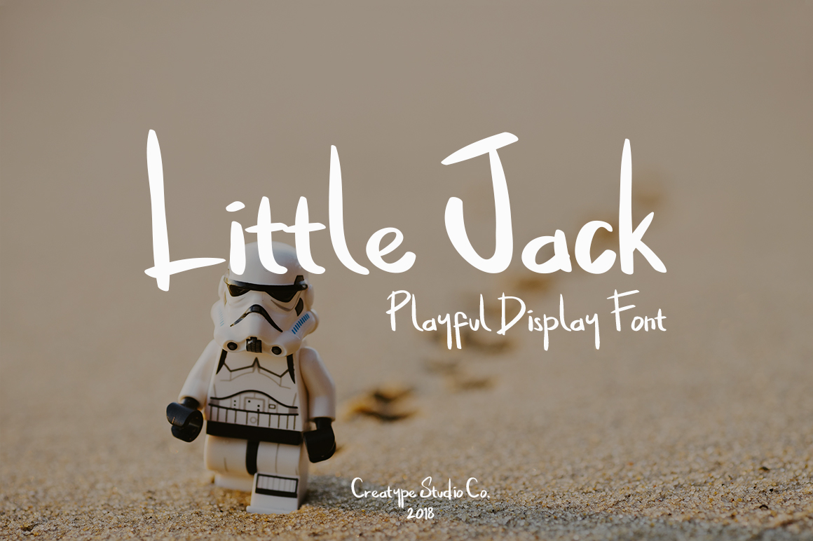 Print on Demand: Little Jack Display Font By CreatypeStudio