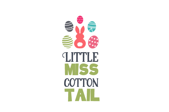 Little Miss Cotton Tail Easter Craft Cut File By Creative Fabrica Crafts